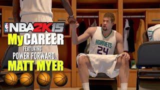 NBA 2K15 (PS4): MyCareer with Matt Myer (Power Forward) - EP9 - Could Myer Be A Starter Soon?