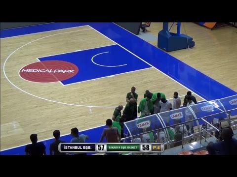 İstanbul Büyükşehir Belediyespor-Sakarya Büyükşehir Basketbol