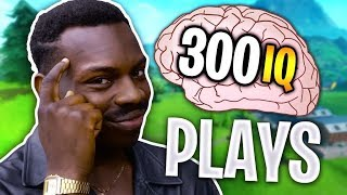 11 minutes of the SMARTEST plays I've ever seen in Fortnite