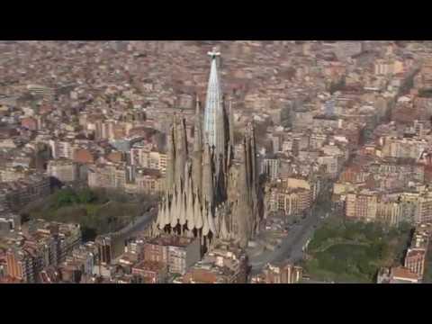 Animation shows completion of Antoni Gaudí's Sagrada Família