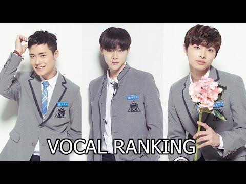 PRODUCE 101 S2 POSITION EVALUATION RANKING VOCAL EP.7