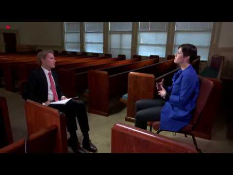 NBC Investigative Reporter Ronan Farrow interviews World Mission Church of God member Rebecca