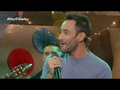 Luciano Pereyra canta