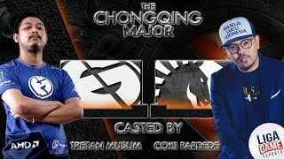 [DOTA 2] MLI  is HERE!!! Tretan Muslim & Coki - Evil Geniuses VS Alliance (BO3) - Chongqing Major