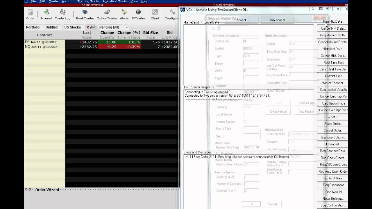 Automated trading system source code