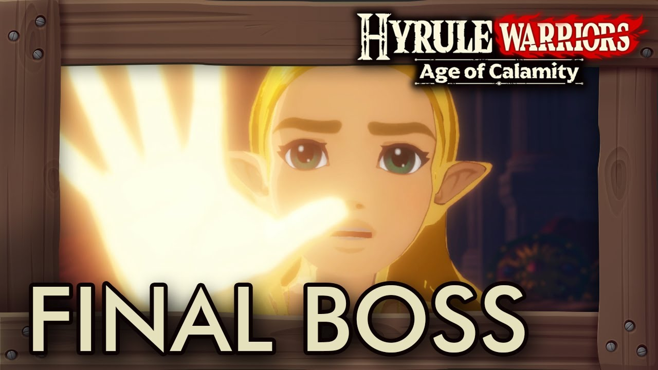 Hyrule Warriors Age Of Calamity Final Boss Ending Youtube