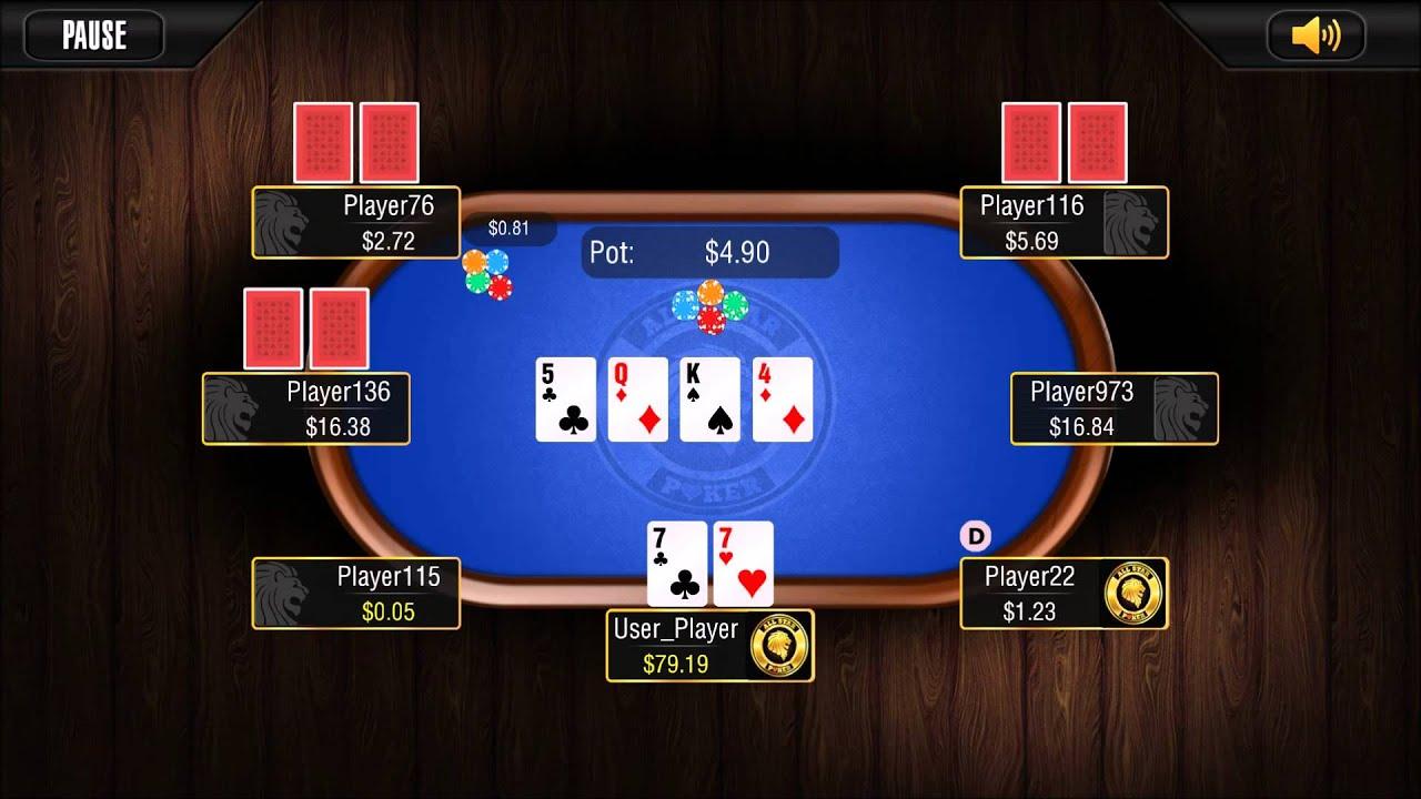Cash Game Poker App