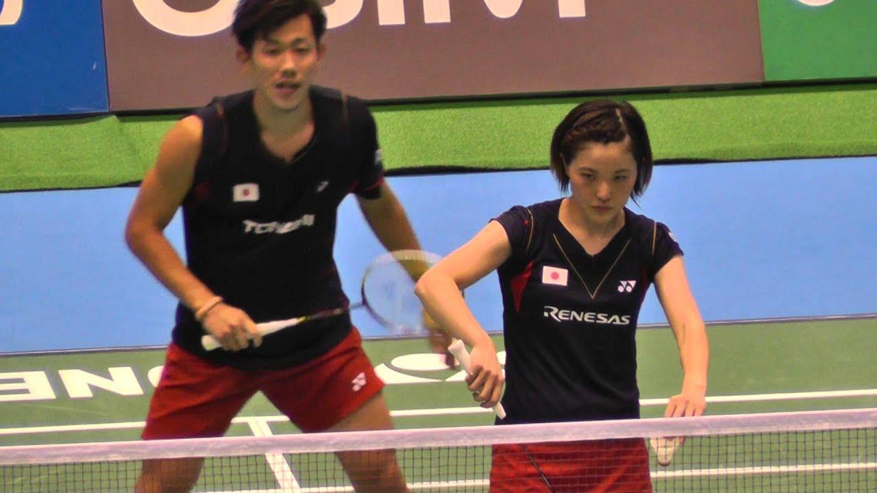 Badminton XD Fernaldi,Pradipta vs 橋本,前田 2G-2 Yonex Open ...