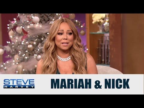 Mariah Carey talks co-parenting with Nick Cannon || STEVE HARVEY