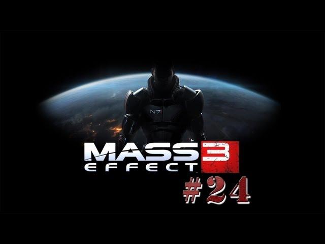 """Смотреть прохождение игры Mass Effect 3. Серия 24: """"Сервер гетов."""""""
