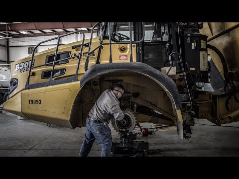Learn How To Do Brake Repair On A 30 Ton Bell B30e Adt- Bell Equipment Brakes.