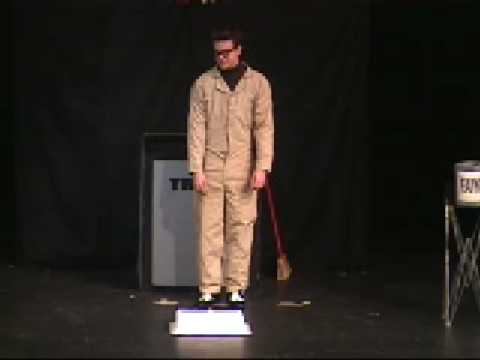 World's Fastest Costume Change (with no cover!) Magician