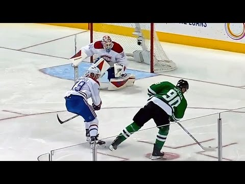Spezza fakes slapper, beats Condon with wrister