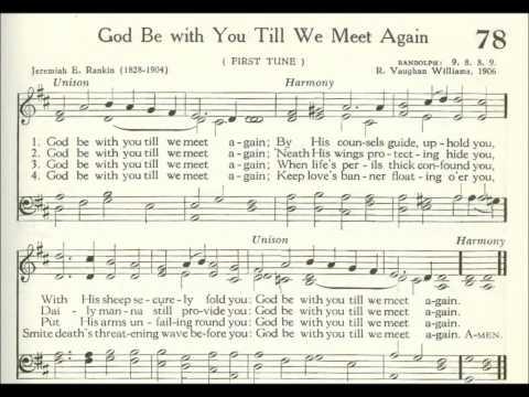 God Be with You Till We Meet Again (Randolph)