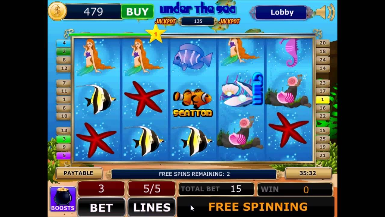 Free Slots Under The Sea