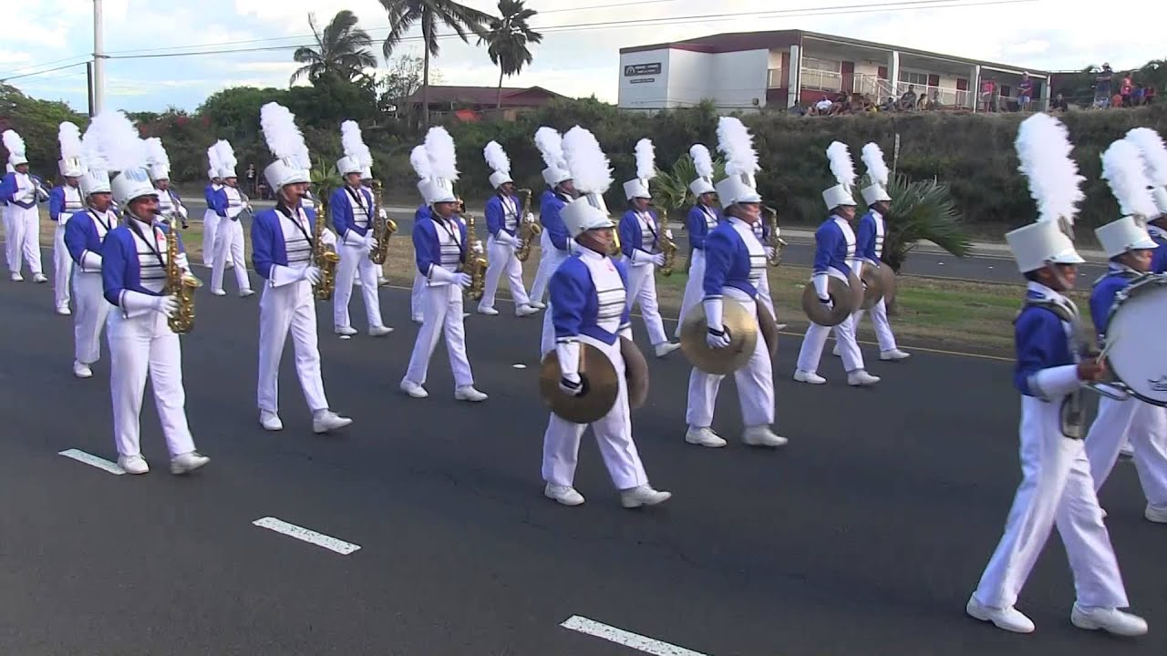 Maui High School Marching Band - September 24, 2015 - YouTube