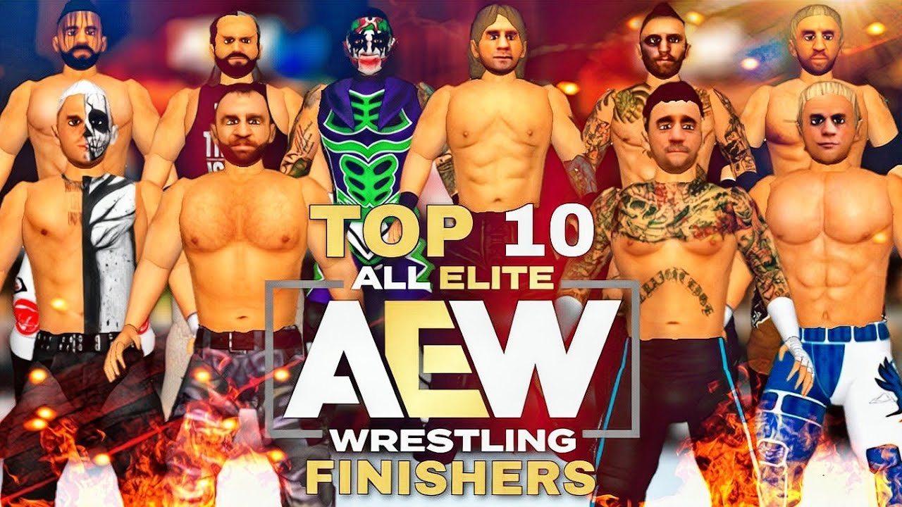 Download AEW TOP 10 MOST ICONIC FINISHERS OF 2021  WR3D 2K21