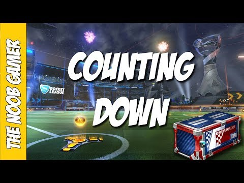 WAITING FOR THE OVERDRIVE CRATES! - Rocket League LIVE