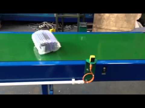 Conveyor With Pec Sensor Youtube