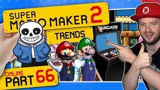 SUPER MARIO MAKER 2 ONLINE 👷 #66: Mario Arcade Neo 2, Undertales Megalovania & Logical Solutions