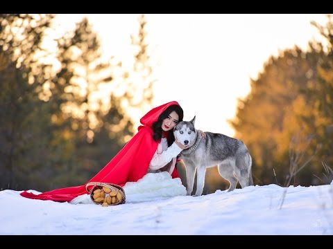 Красная шапочка и серый волк (backstage)