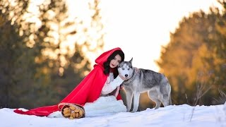 Красная шапочка и серый волк (backstage)(Данное видео было снято в рамках фотосесии. Видео: Ринат Кунакаев https://www.youtube.com/channel/UCyQB... Фото: Дулат Сепбосы..., 2016-04-09T17:52:45.000Z)