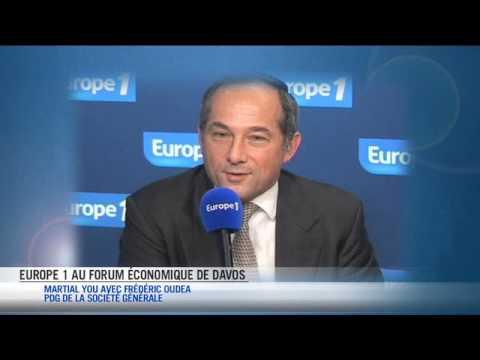 Le grand témoin de Davos 2014, 3 questions à Frédéric Oudéa