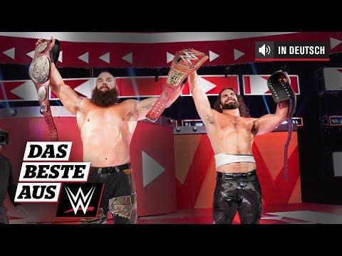Das Monster unter Tag Team Champs: Das Beste aus WWE, 24. August 2019