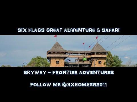 Six Flags Great Adventure & Safari: Skyway — Frontier Adventures/Lakefront