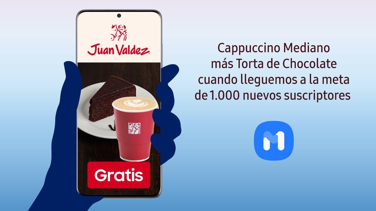 Samsung   Samsung Members   Capuccino mediano y Torta de Chocolate Juan Valdéz