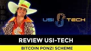 REVIEW USI-TECH. BITCOIN PONZI SCHEME WITH BS!