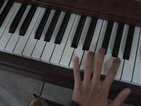 Disenchanted piano tutorial