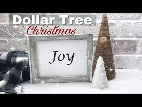 Dollar Tree Christmas DIY Ideas