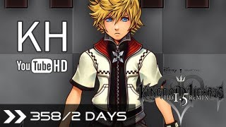 Kingdom Hearts 1.5 HD Remix - KH 358/2 Days All Cutscenes (Organization XIII Movie - Roxas, Axel & Xion