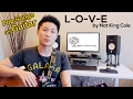 Learn a Romantic Song for Valentine's -  L-O-V-E By Nat King Cole (On guitar)