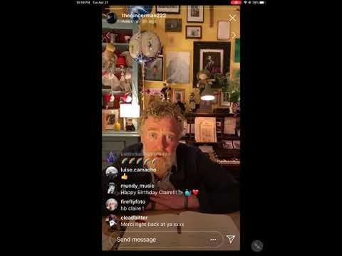 Glen Hansard 50th Birthday Party - 21 April 2020