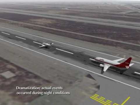USair 737 collides with Skywest Metroliner re-creation