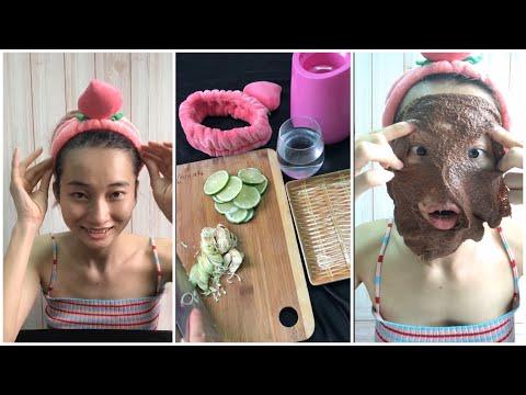 Review mặt nạ ngũ hoa, chăm sóc da bằng xông hơi | Tổng Hợp Tiktok