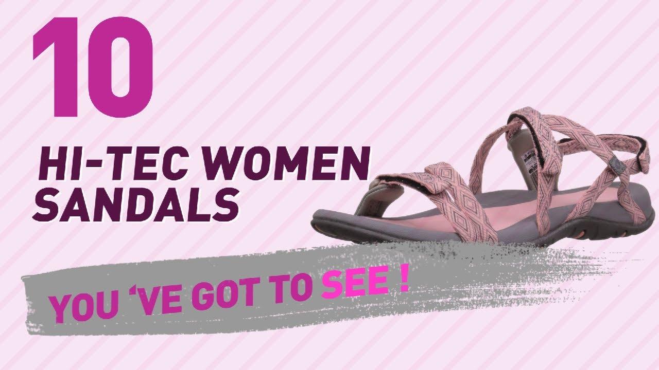 05187e8a802607 Hi-Tec Women Sandals    New   Popular 2017 - YouTube
