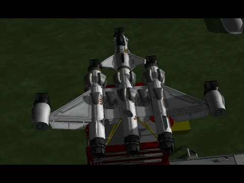 How to Build a Balanced VTOL Space Plane in Kerbal Space Program (KSP)