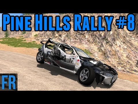 BeamNG Drive - Pine Hills Rally #8
