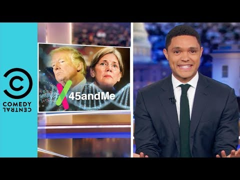 Does Donald Trump Owe Elizabeth Warren A Million Dollars? | The Daily Show With Trevor Noah