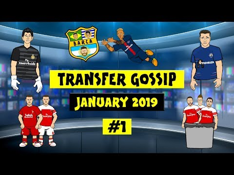 💰Neymar to Barca?💰 TRANSFER GOSSIP! #1! (Ramsey to Liverpool? Morata AC Milan! Higuain Chelsea!)