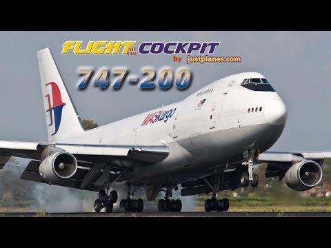 MASKargo - Air Atlanta 747-200 Cockpit