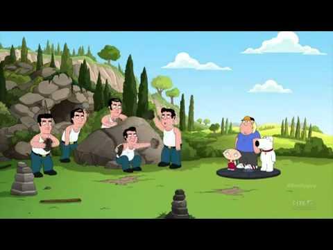 Paulie from The Sopranos (Tony Sirico) threatens Family Guy