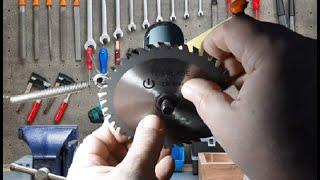 Мини циркулярная пила своими руками. Самодельная циркулярка. DIY circular saw.  #сделайсам