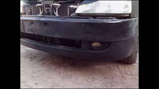 метод ремонта пластиковых бамперов ч  2