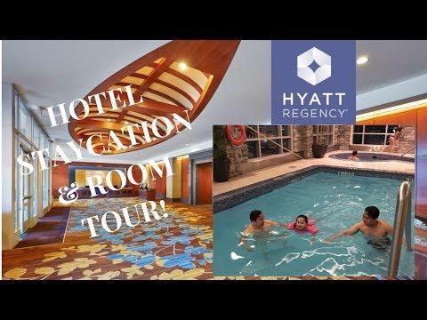 Hyatt Regency Hotel Room Tour Plus Staycation!