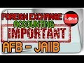 Foreign Exchange Accounting  Calculating forward exchange buying and selling rates AFB JAIIB