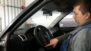 Уводит автомобиль после замены передних пружин.